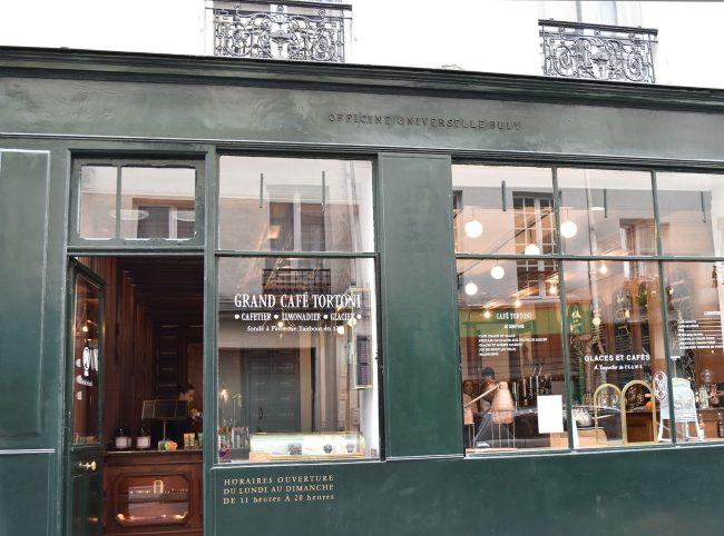 こちらのお店、化粧品だけでなく、カフェも併設しています