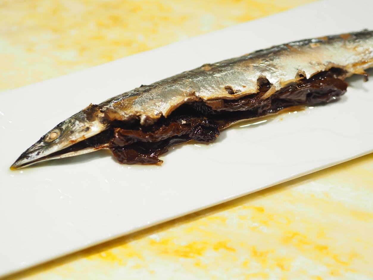 秋刀魚のコンフィ