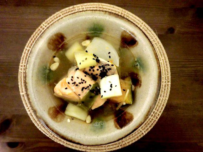 簡単薬膳レシピ:五色のバランススープ