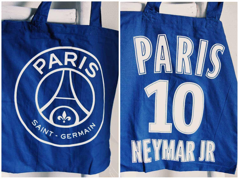 パリ・サンジェルマンFCのエコバッグ