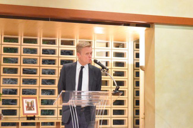 ローラン・ピック駐日フランス大使からご挨拶