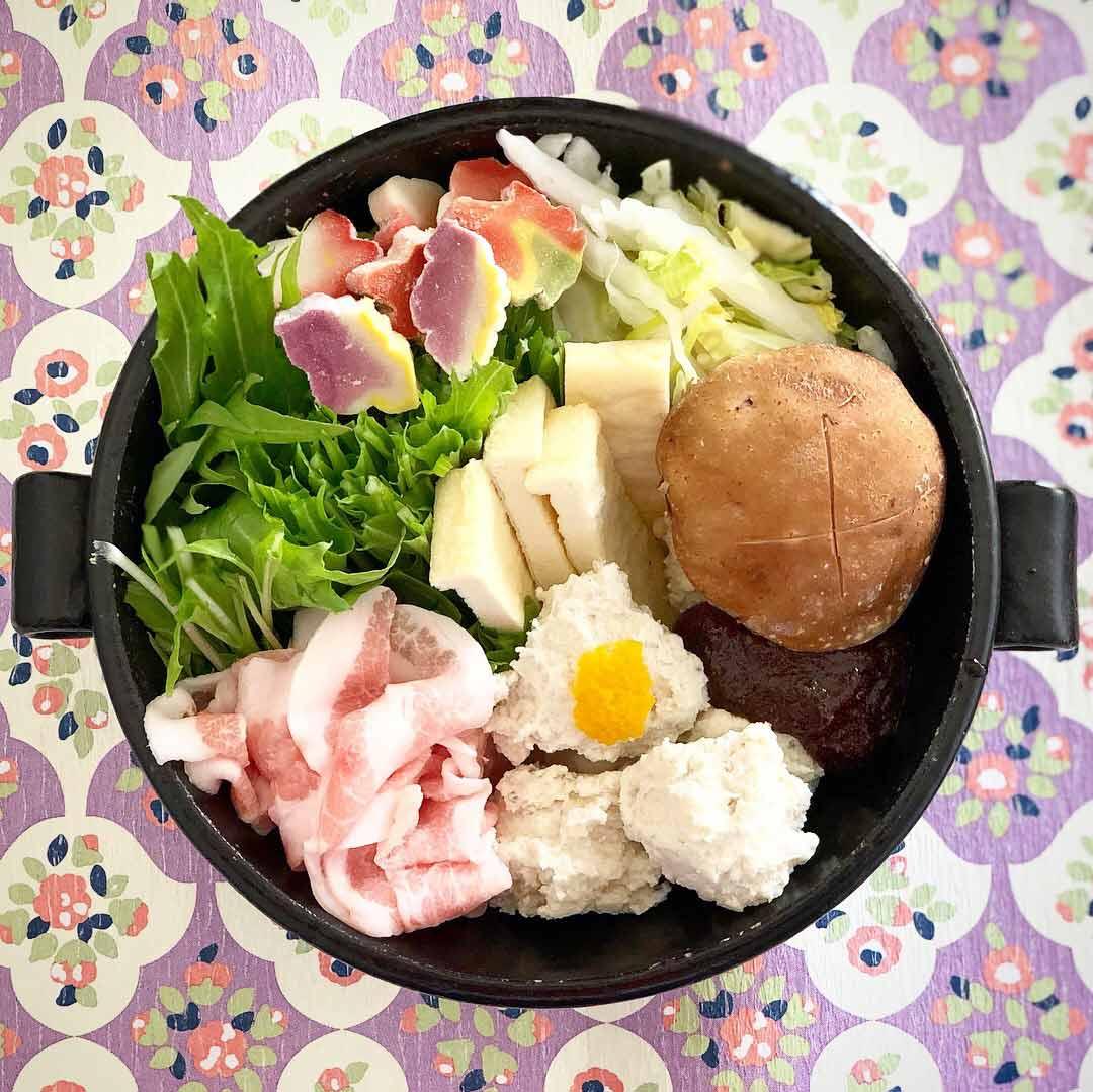 鶏団子の一人鍋