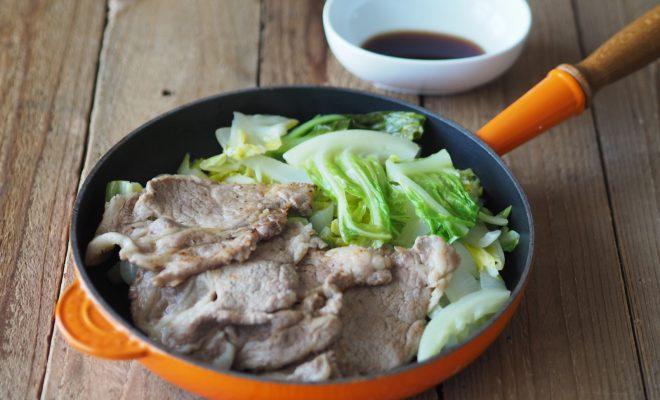 春キャベツと豚肉のソテー