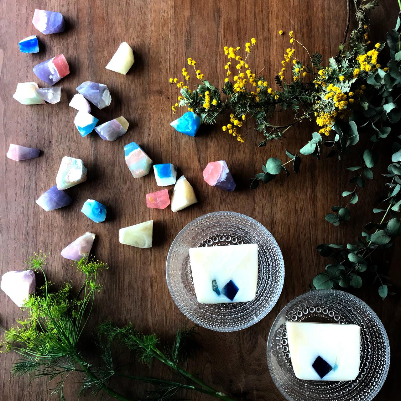 【参加者募集】今の私にピッタリ!パワフルオイルを使った石けん作り(ドリンク・お土産付) 第2回大人女子のアトリエじかん