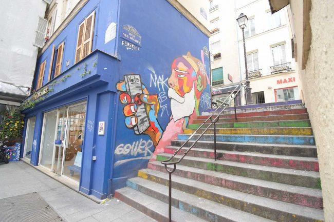 パリで一番短い通り「ドゥグレ通り」