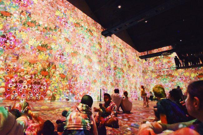 パリで初めてのデジタル・ミュージアム「L'Atelier des Lumieres」
