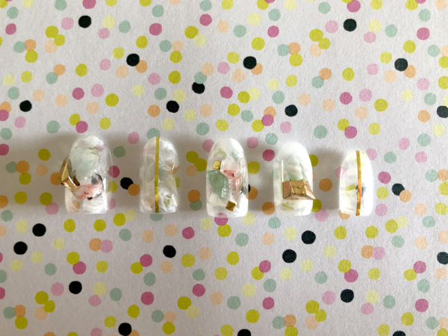 【セルフネイル】天然石の魔法で夢が叶う!?パワーストーンネイル