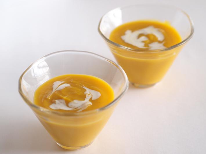 かぼちゃの冷製ポタージュ
