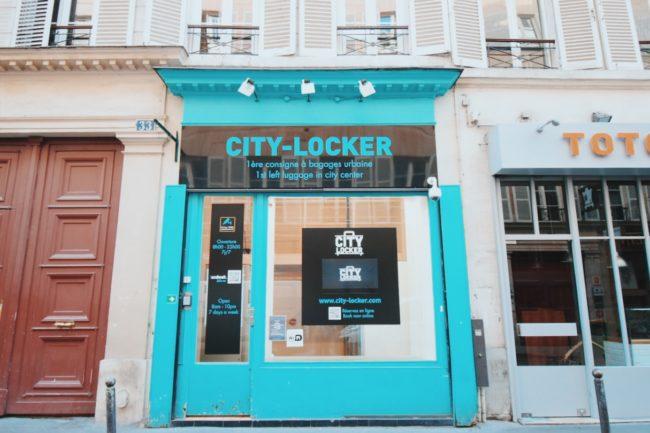 パリの荷物預けサービス「At The Corner」と「City Locker」