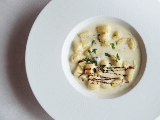 【レシピ】さつま芋のニョッキ ゴルゴンゾーラクリームソース