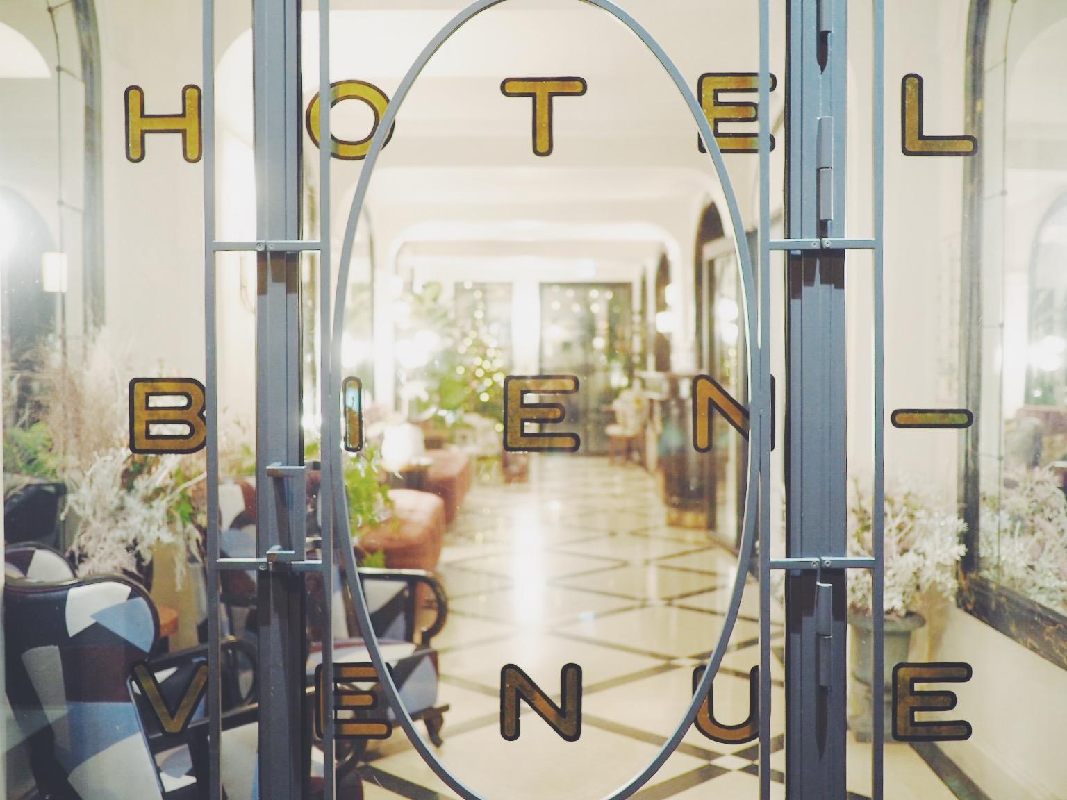 パリのおすすめホテル Hotel Bienvenue Paris