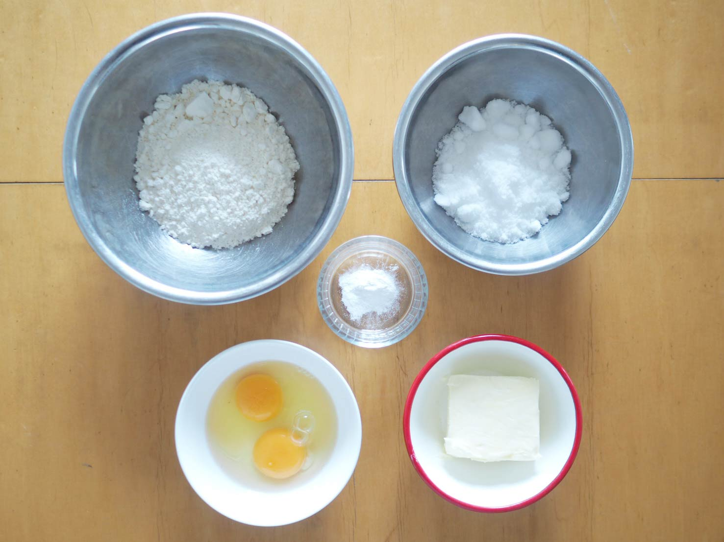 パウンドケーキの材料