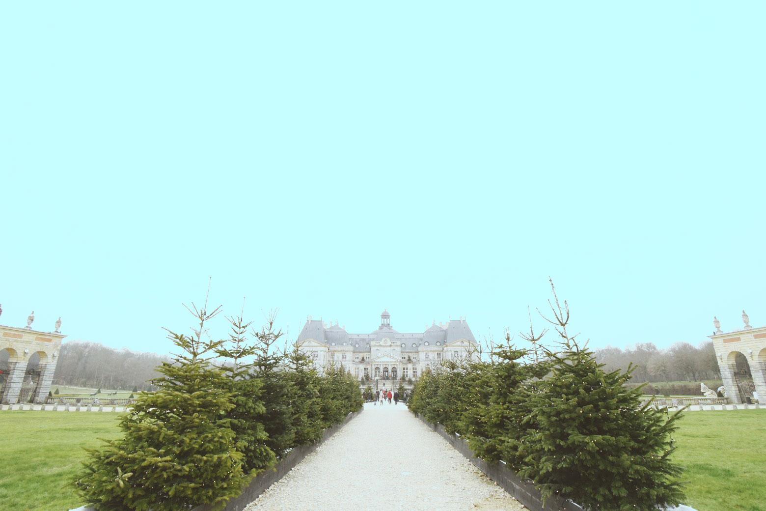 ヴォー=ル=ヴィコント城のクリスマス