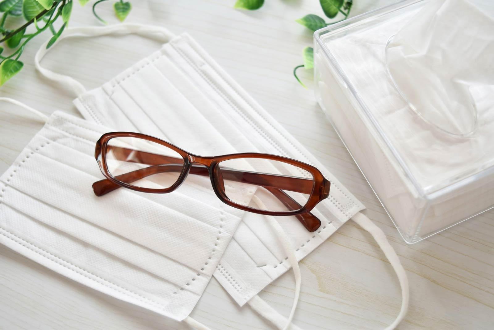 メガネとマスク