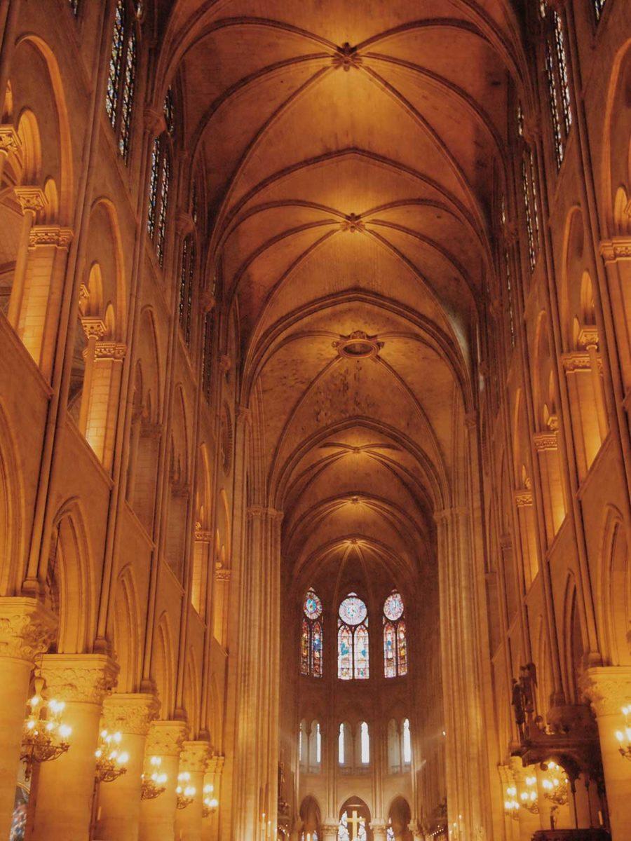 ノートルダム大聖堂薔薇窓 rosace
