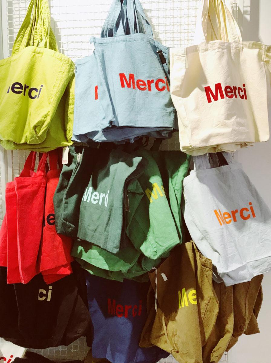 MERCIのトートバッグ
