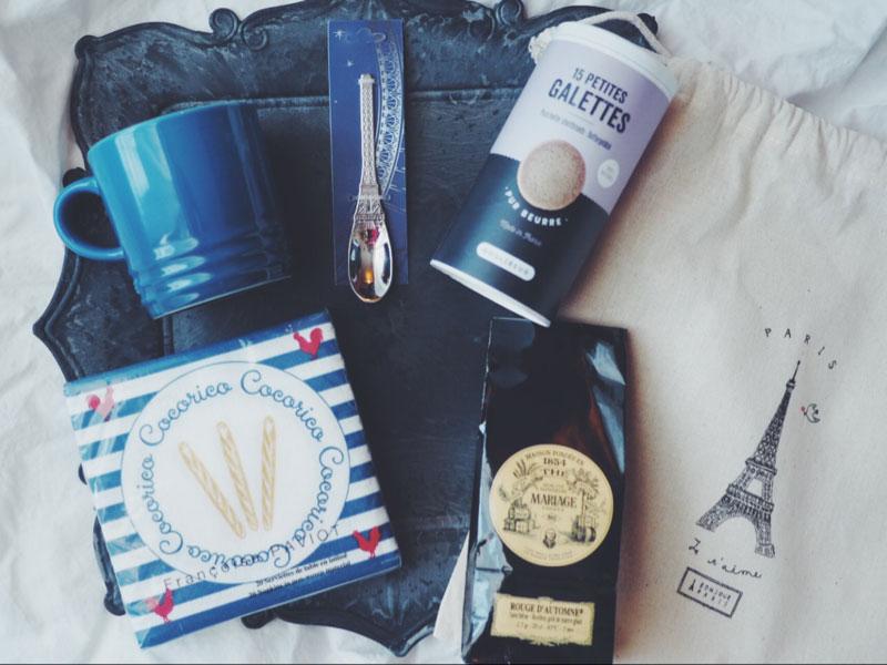 Bonjour Paris Box Tea time box