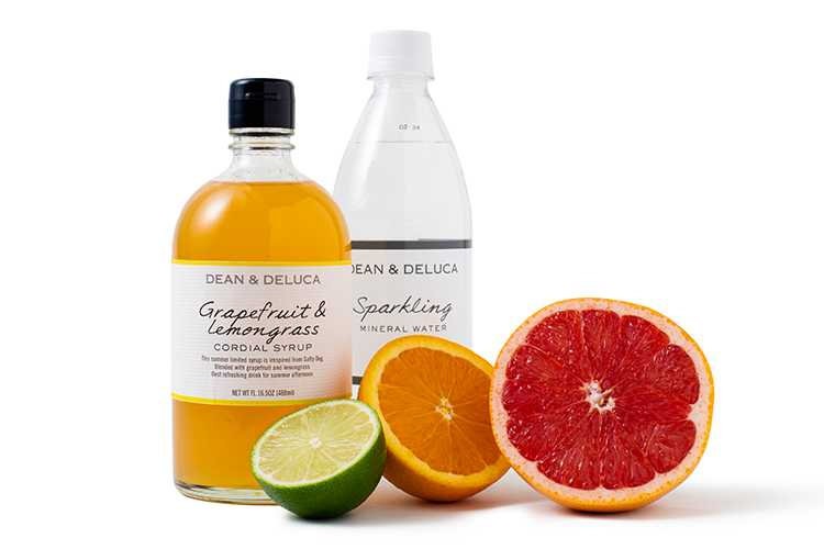 グレープフルーツ & レモングラスの材料