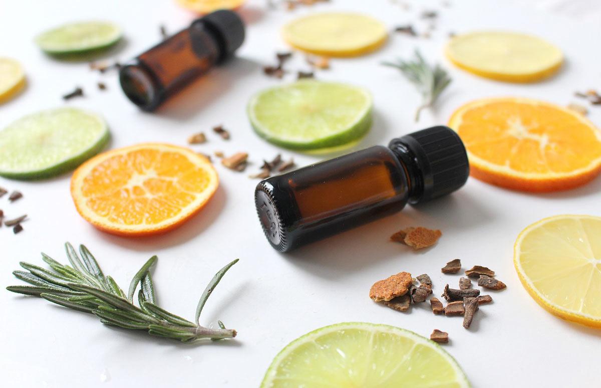柑橘類と精油