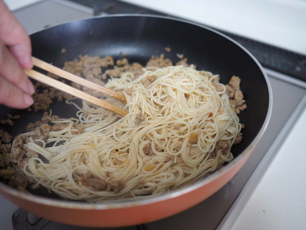 四川風素麺作り方