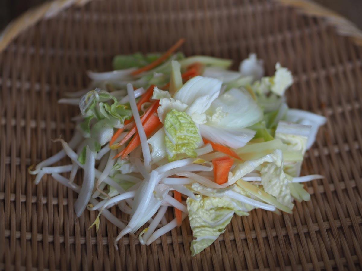 300gの野菜
