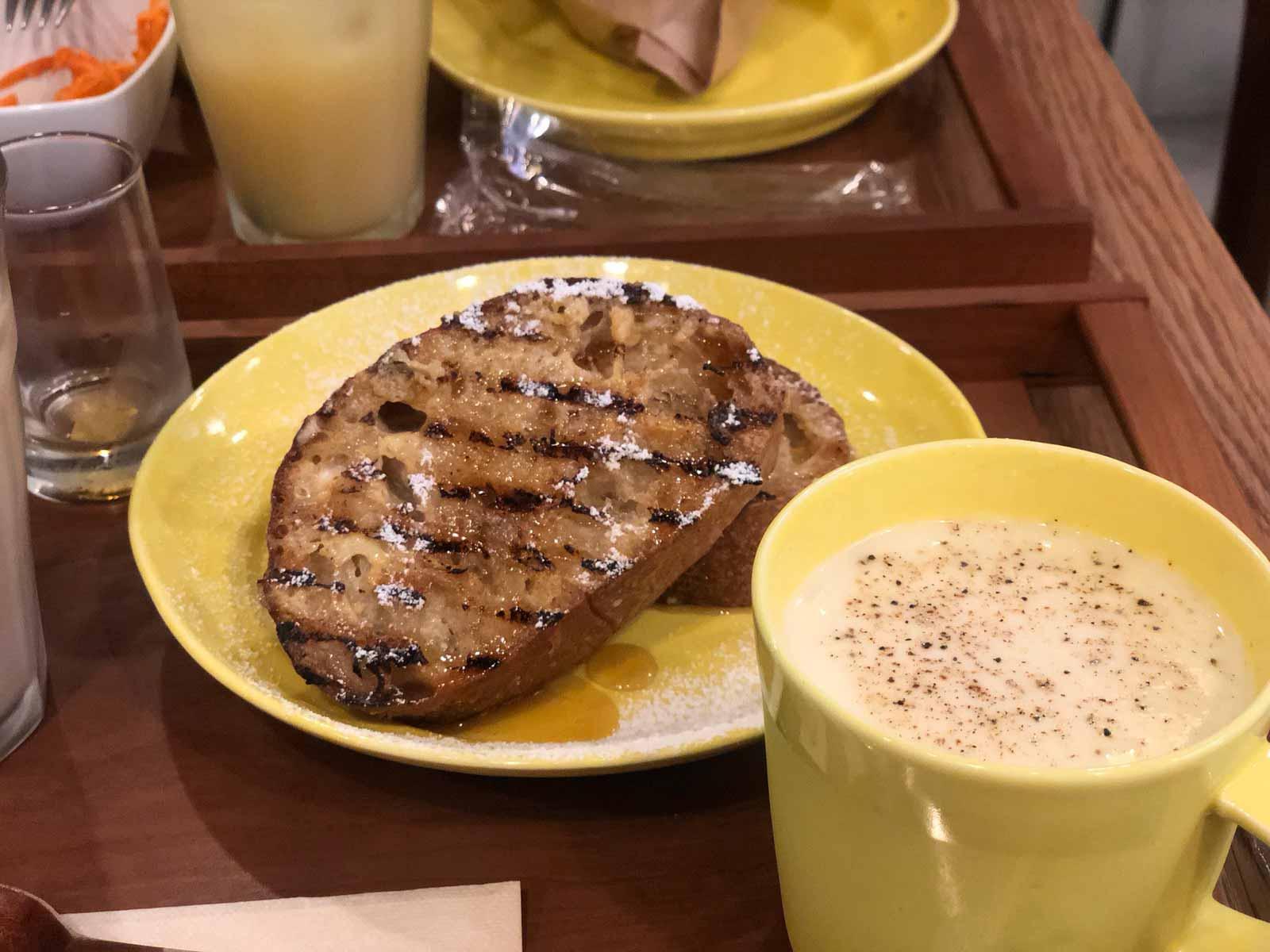 boulangerie yamashitaのフレンチトースト