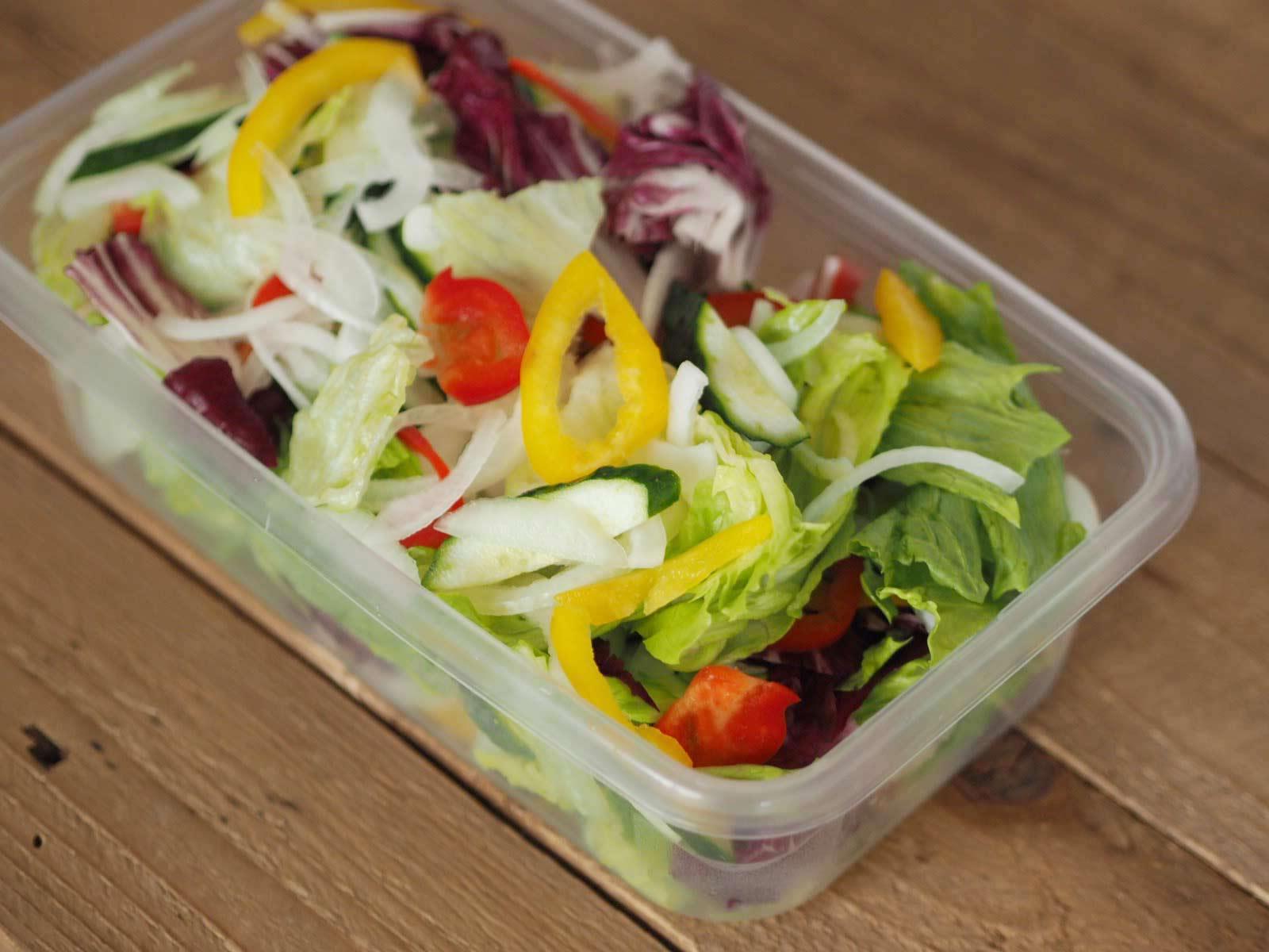 自分で作る生野菜ミックス