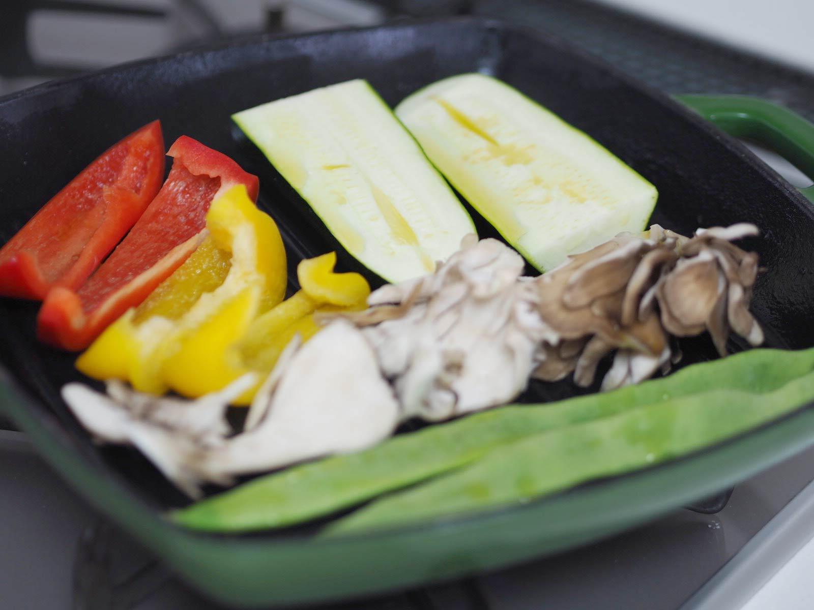 野菜のステーキ