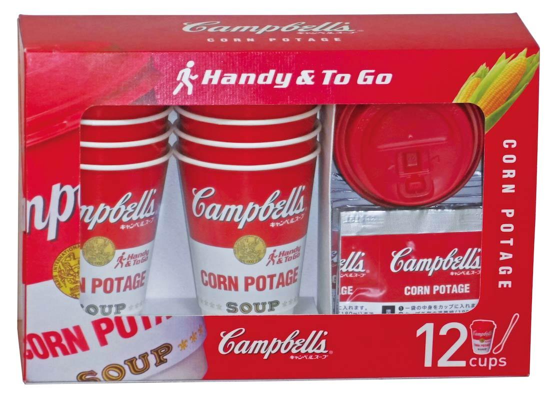 キャンベル インスタントスープ コーンポタージュ 12食セット