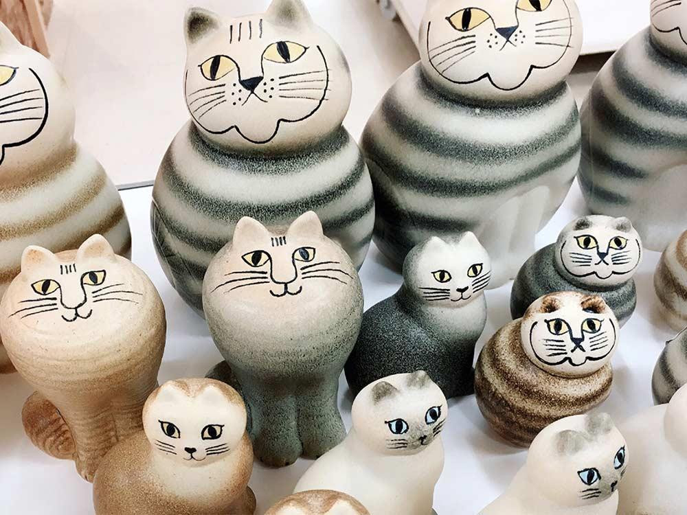 リサ・ラーソン 陶器のオブジェ