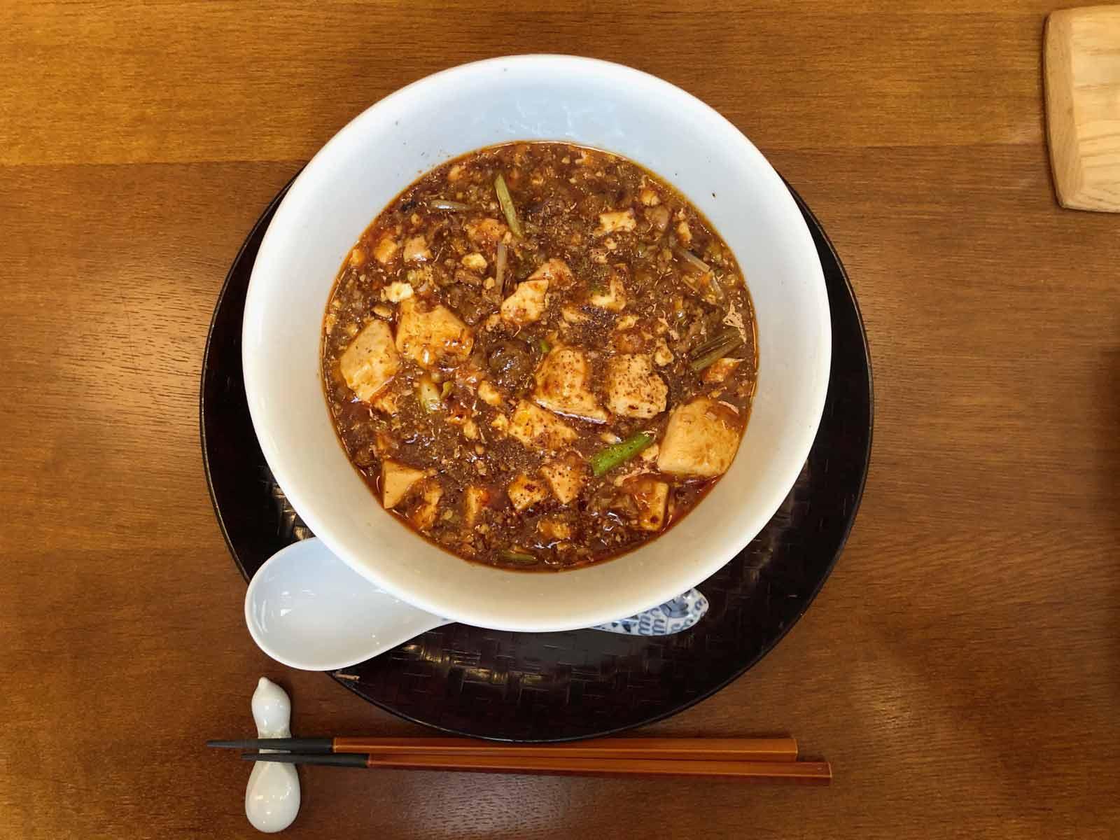原宿はしづめの麻婆豆腐麺