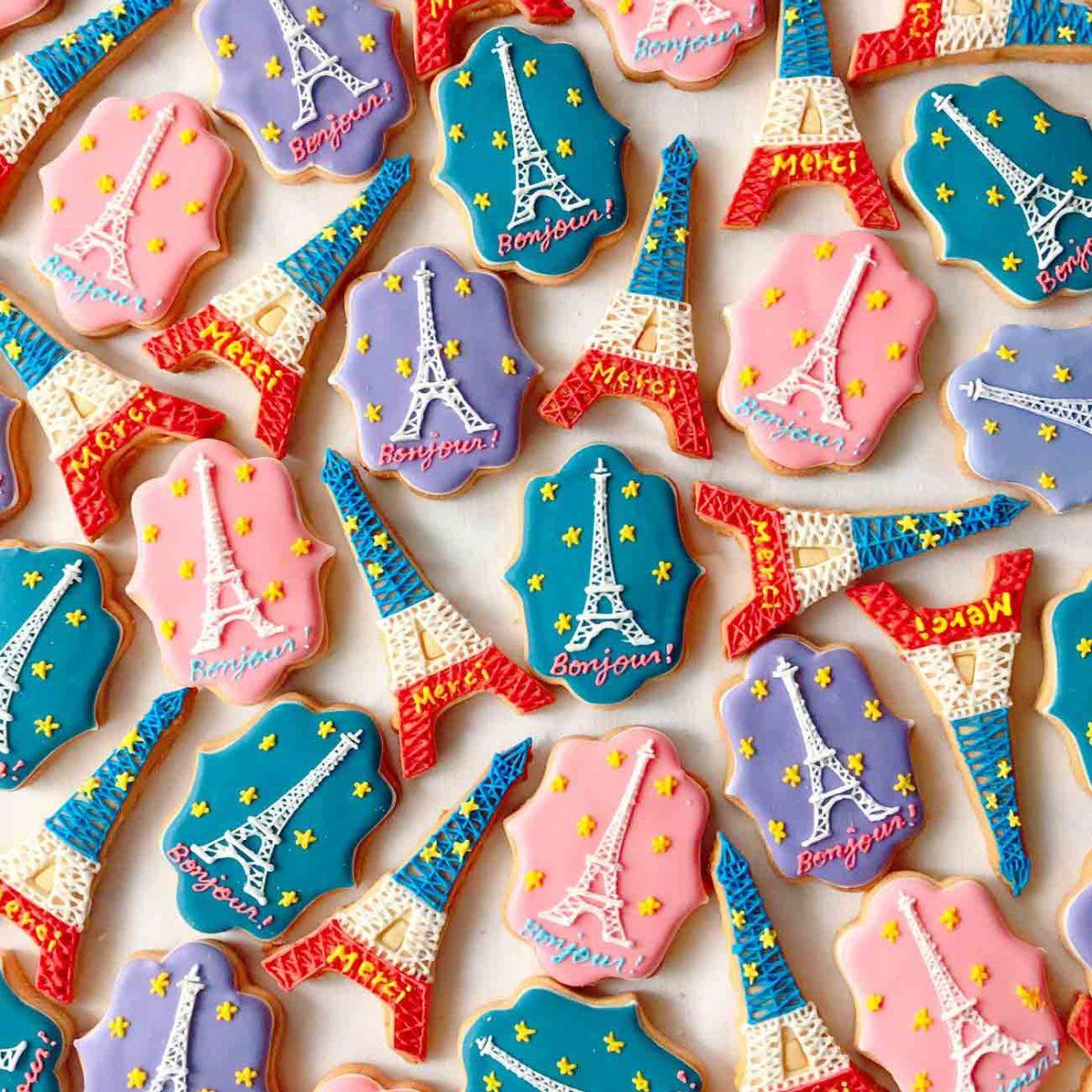 micarina アイシングクッキー