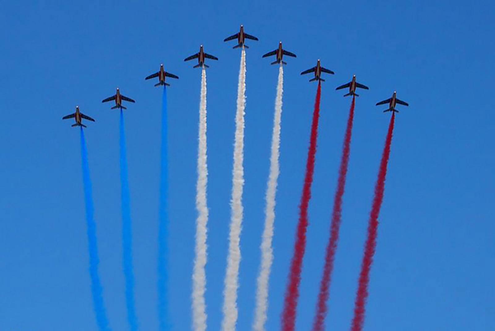 パリ祭 航空ショー