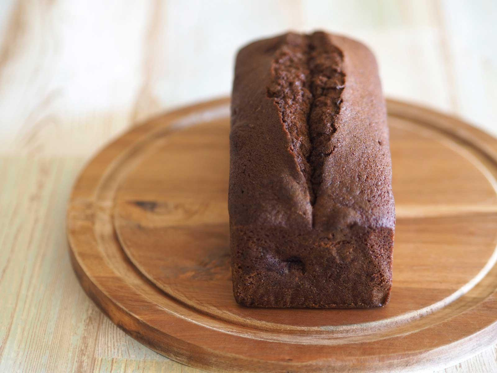 ココアチェリーパウンドケーキ