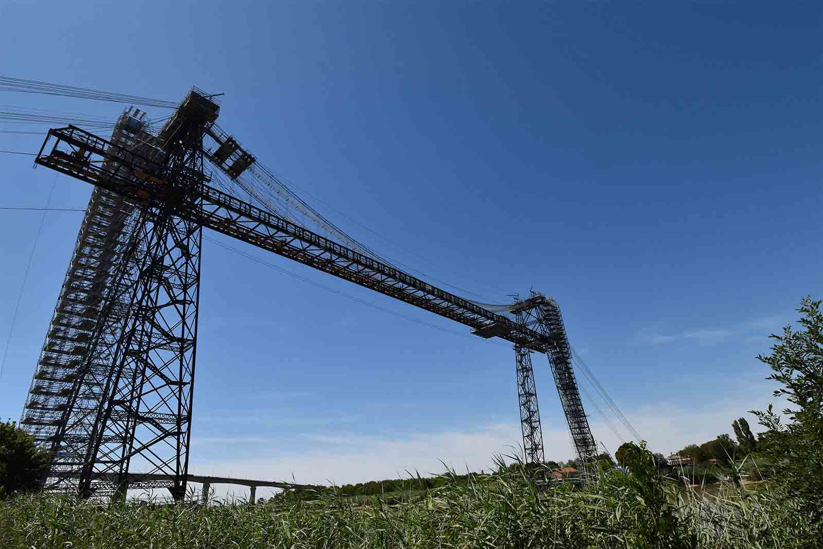 運搬橋(Pont Transbordeur de Martrou