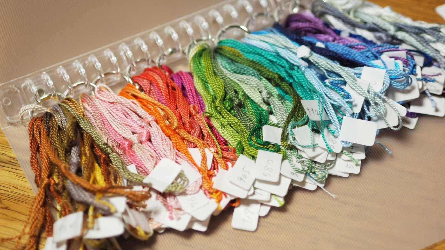 スウェーデン刺繍糸