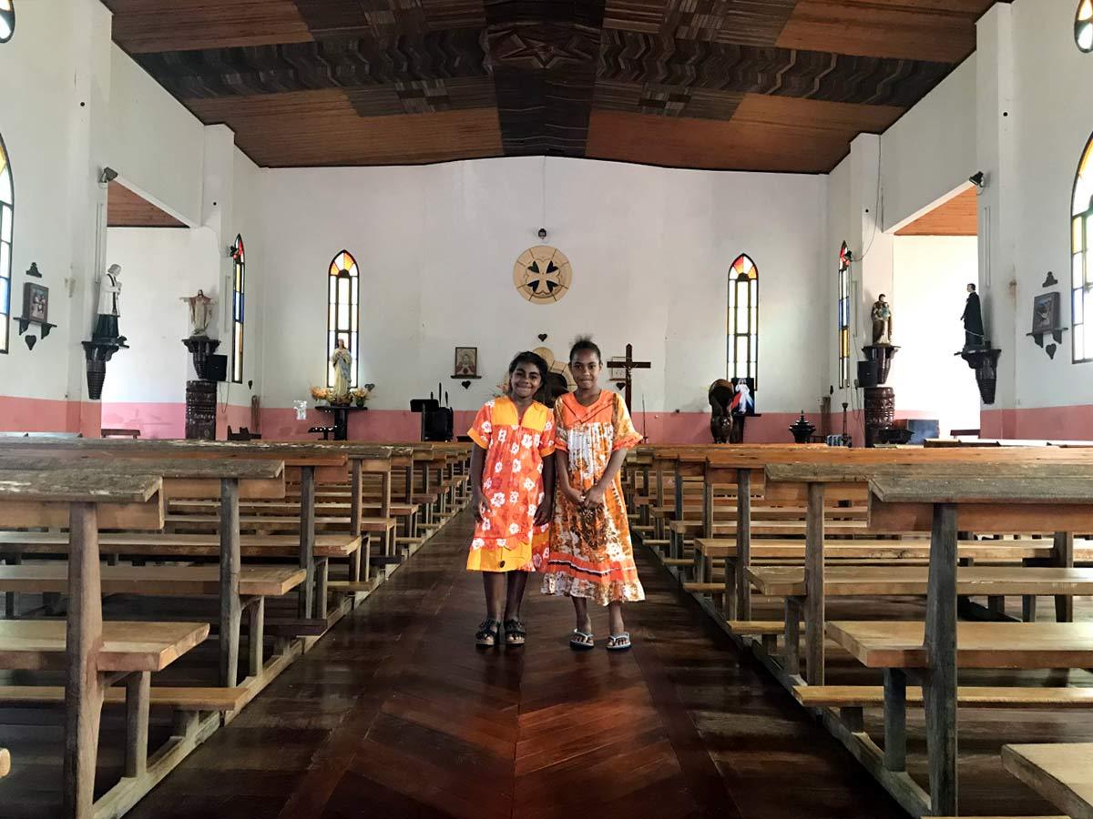 ニューカレドニアの子供たち