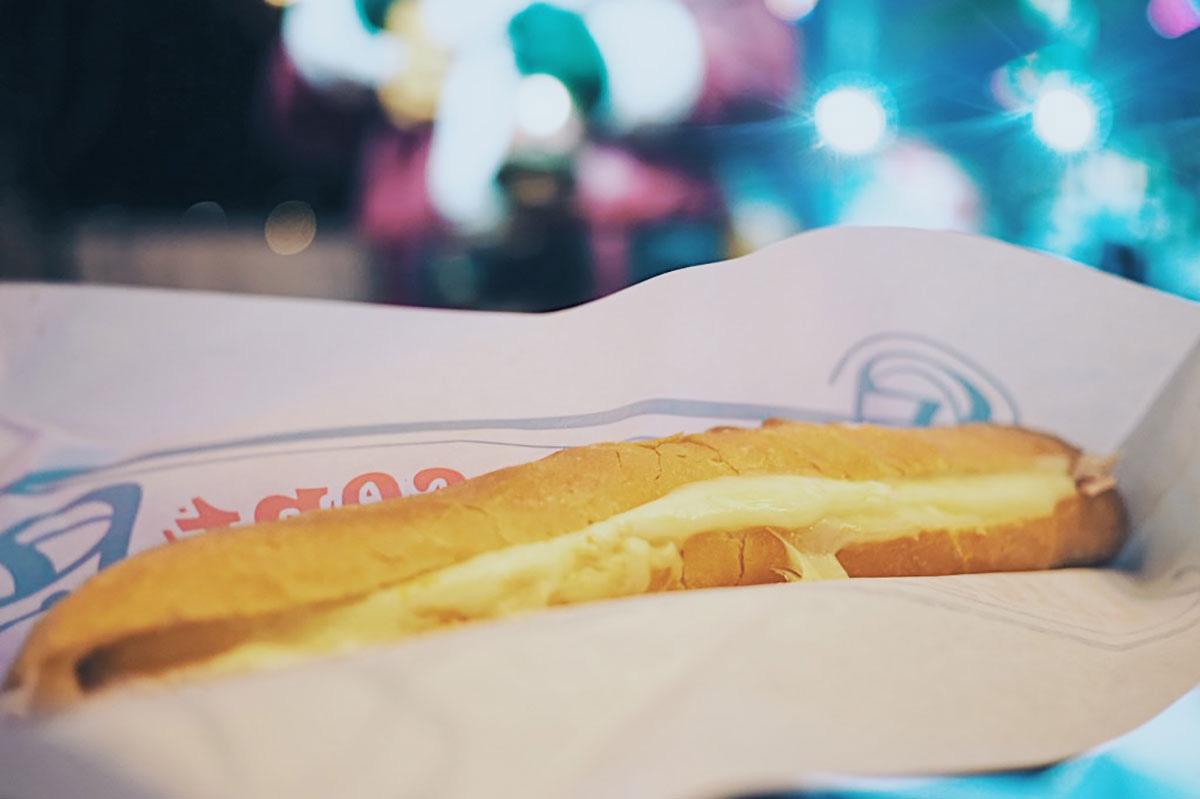 ラクレットサンドイッチ