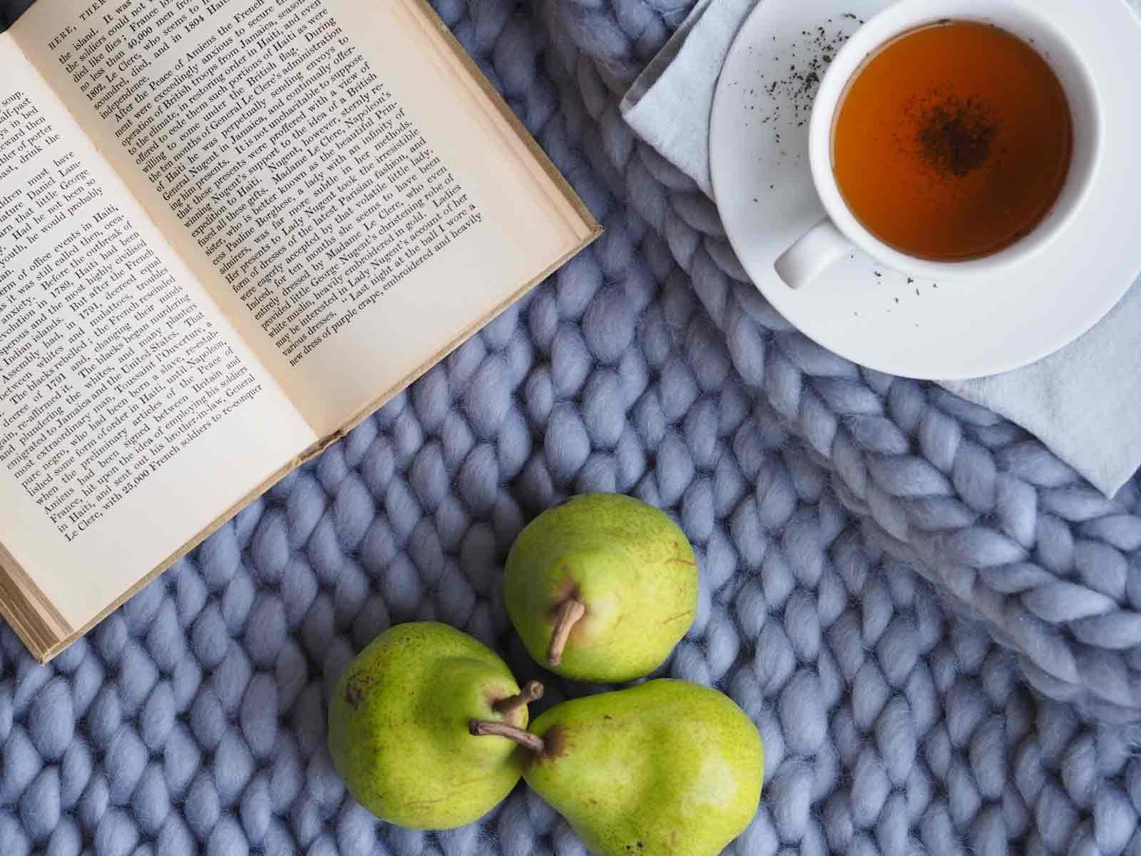 紅茶 読書