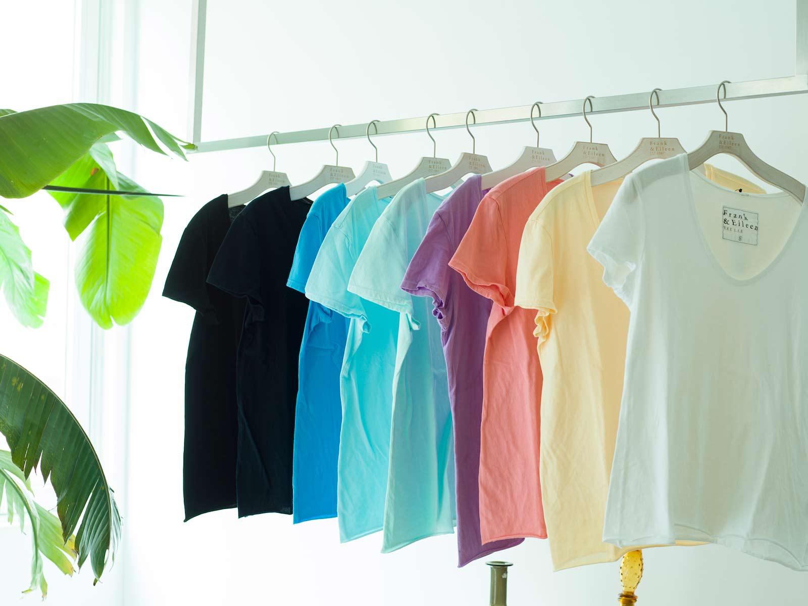 teelab カラフルTシャツ