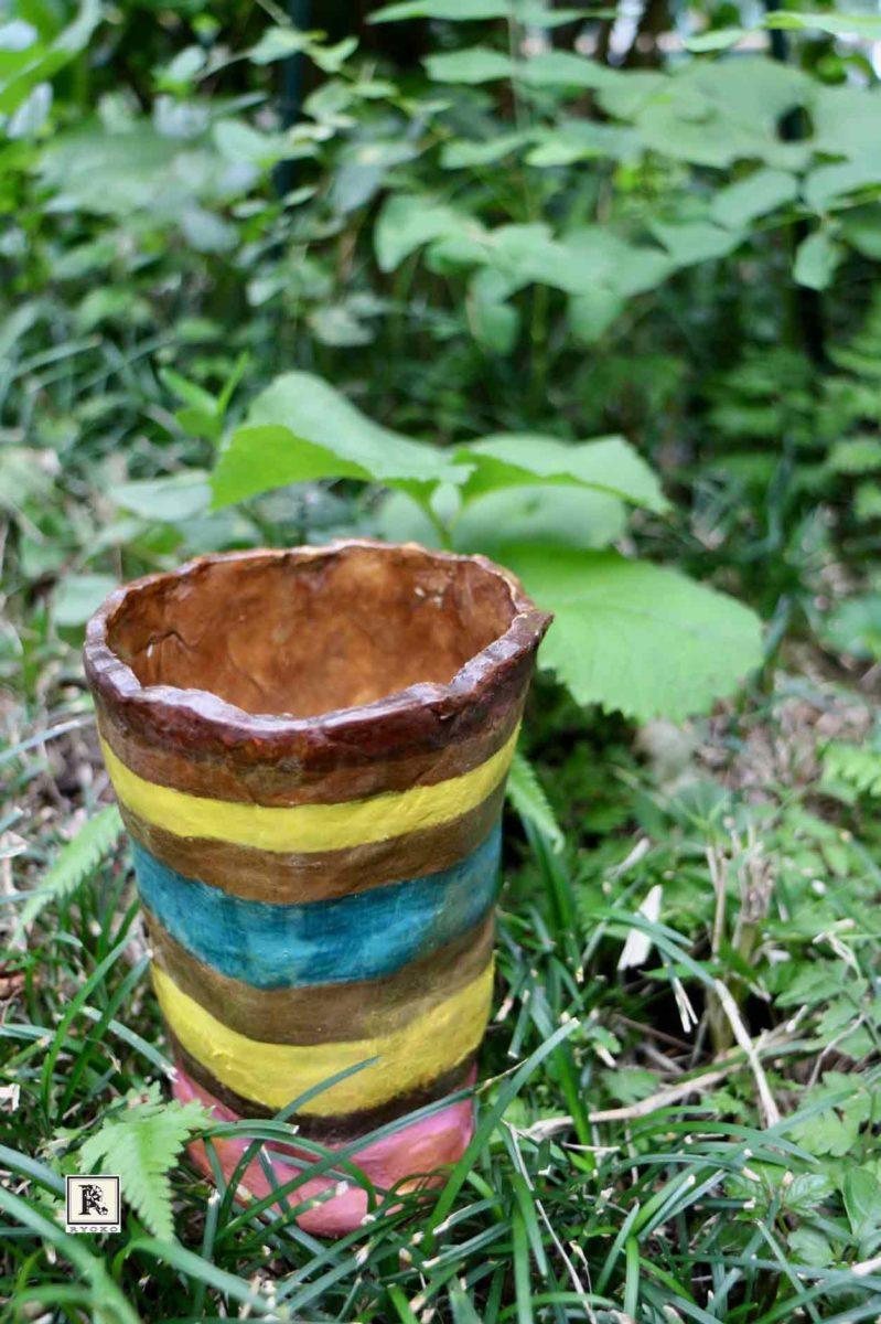 手作りの花器