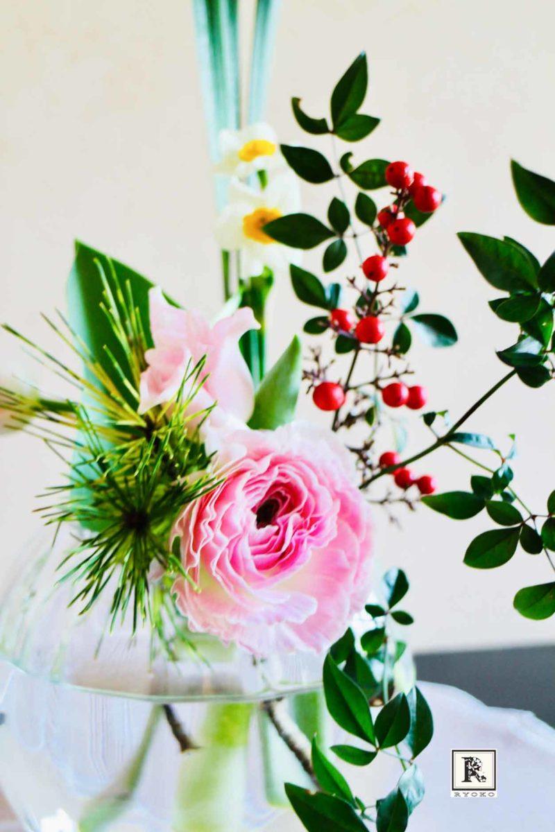 松の内と春のお花