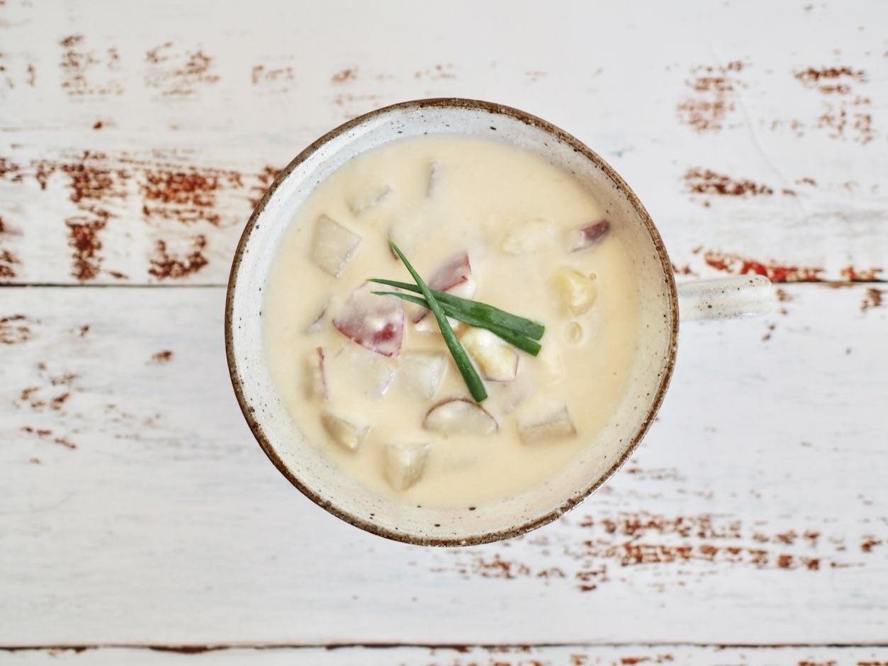 根菜のクリームスープ