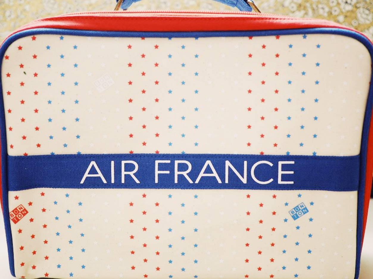 エールフランス Valisette(小さい旅行鞄)