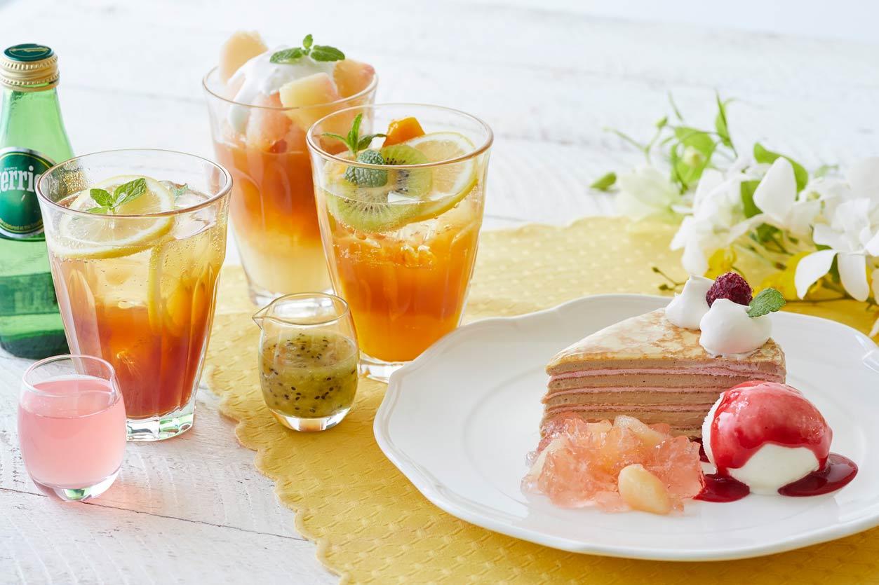 アフタヌーンティー40周年を記念した紅茶のスイーツとアレンジティー