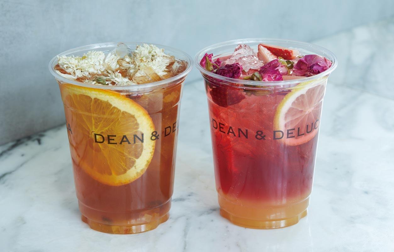 DEAN & DELUCA「香り華やぐ、フラワーフルーツティー」