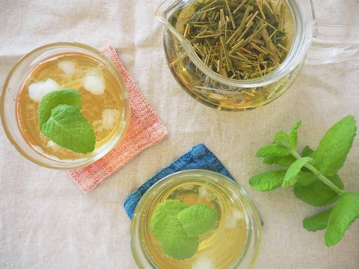 レモングラスと緑茶のさわやかアイスブレンドティー