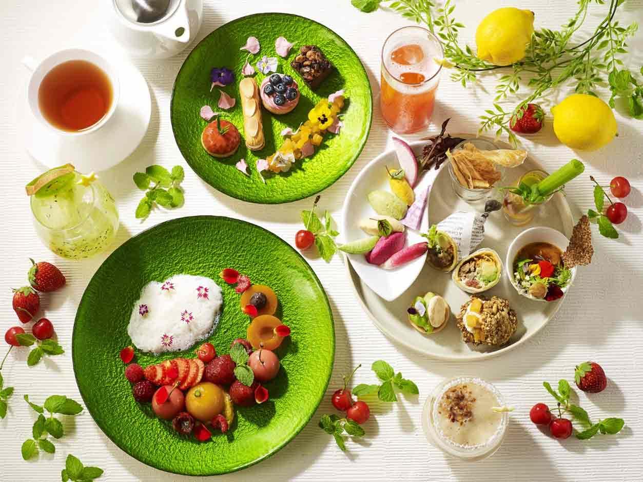 ザ・プリンス パークタワー東京 「Vegan Afternoon Tea~Playful Colors~」