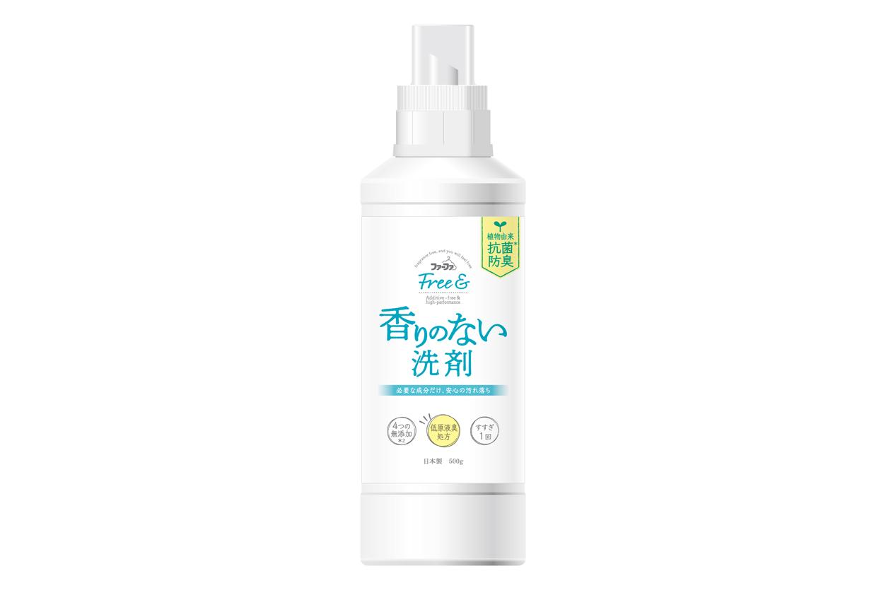 ファーファ Free& 超コンパクト液体洗剤 無香料